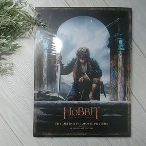 The Hobbit Movie Poster book NEW